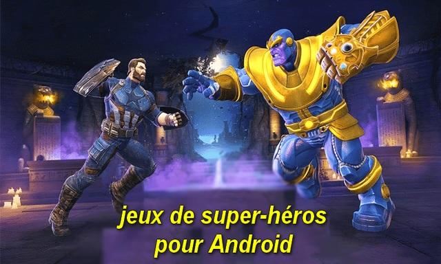 10 meilleurs jeux de super-héros pour Android