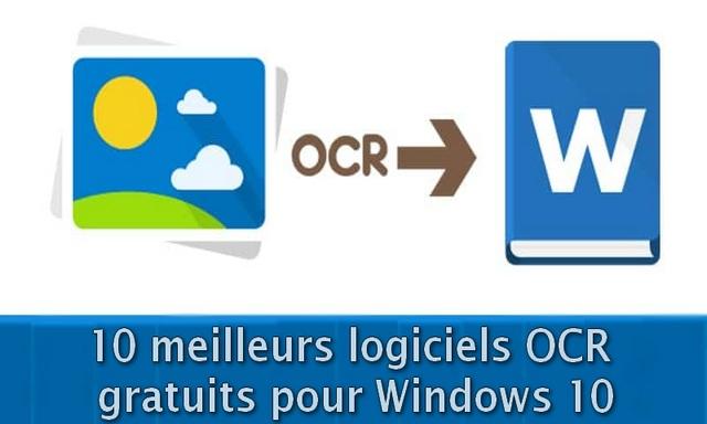 10 meilleurs logiciels OCR gratuits pour Windows 10