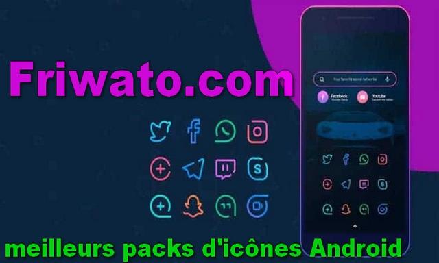 10 meilleurs packs d'icônes Android