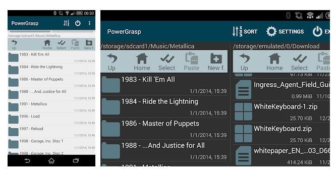 10. PowerGrasp file manager