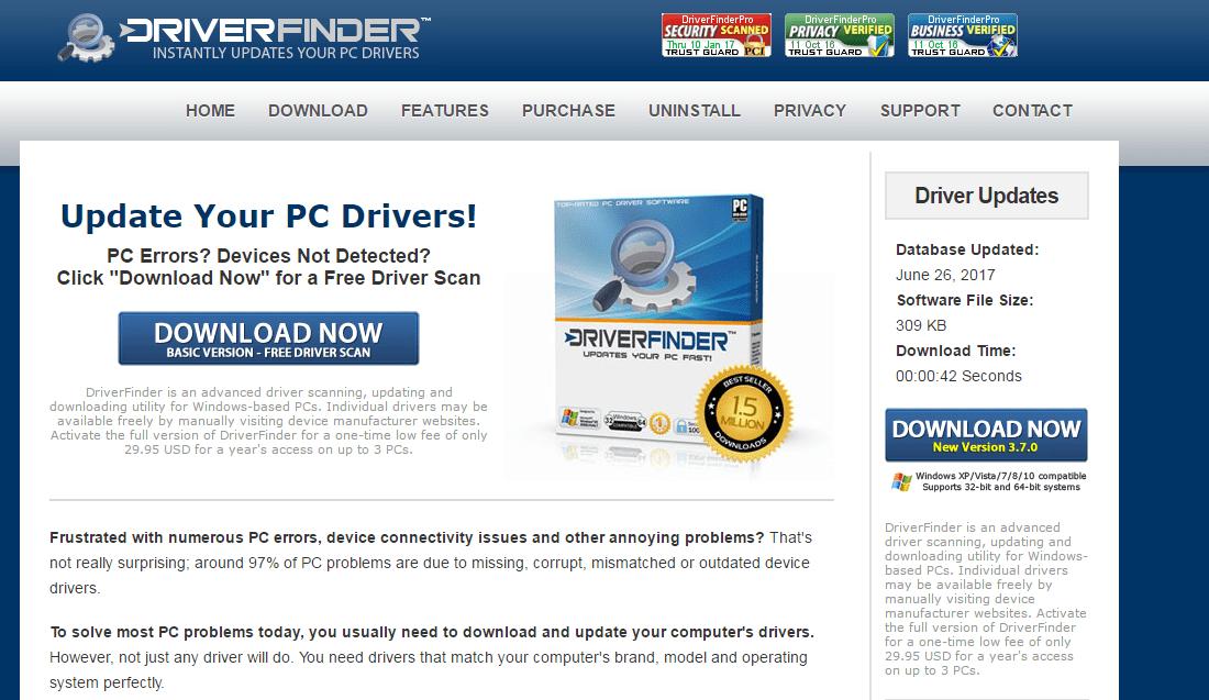 14. Driver Finder