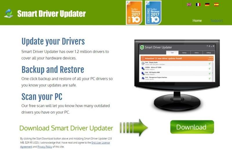 15. Smart Driver Updater