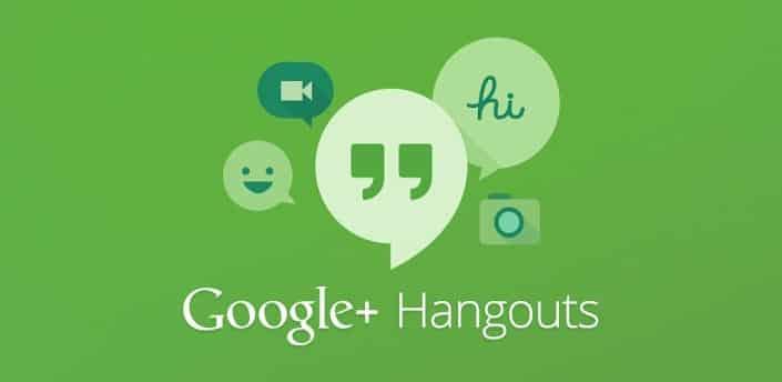 2. Google Hangouts