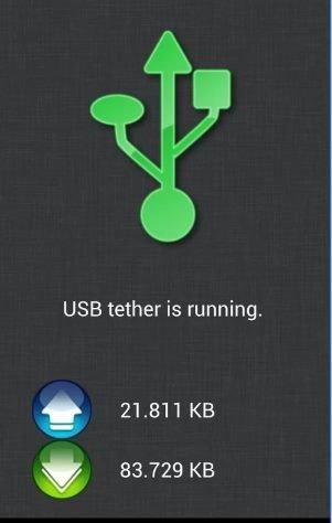 2. Utilisation de ClockworkMod Tether