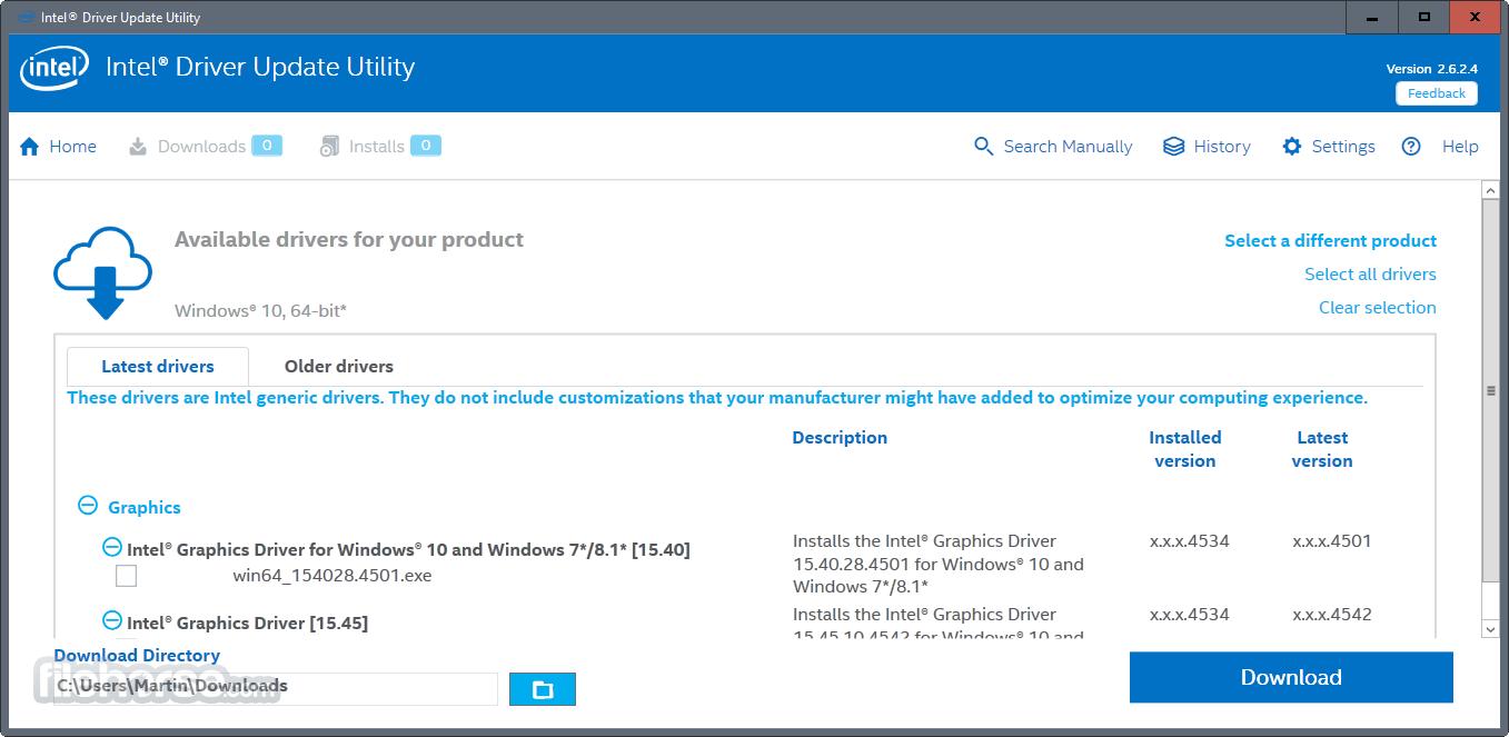 20. Intel Driver Update Utility