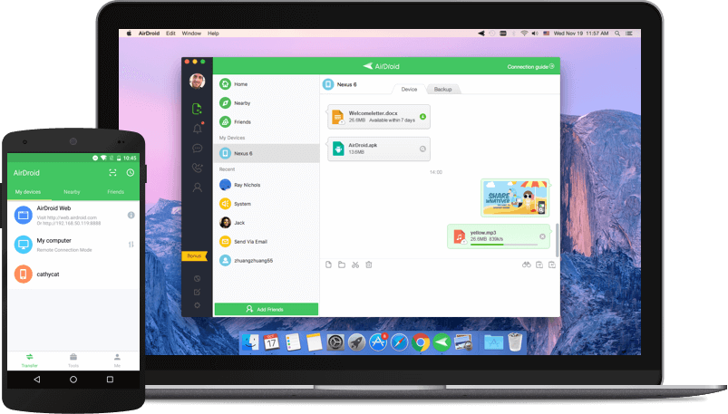 3. AirDroid