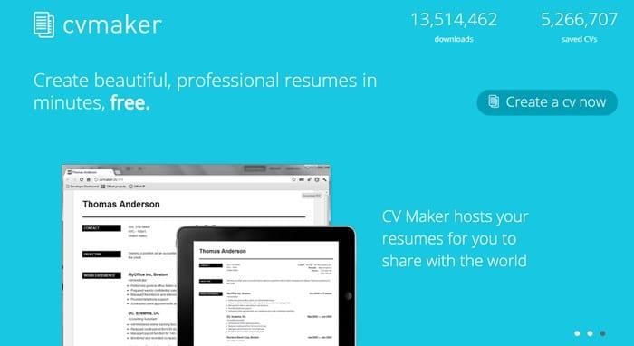 3. CV Maker