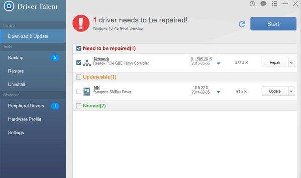 3. Driver Talent