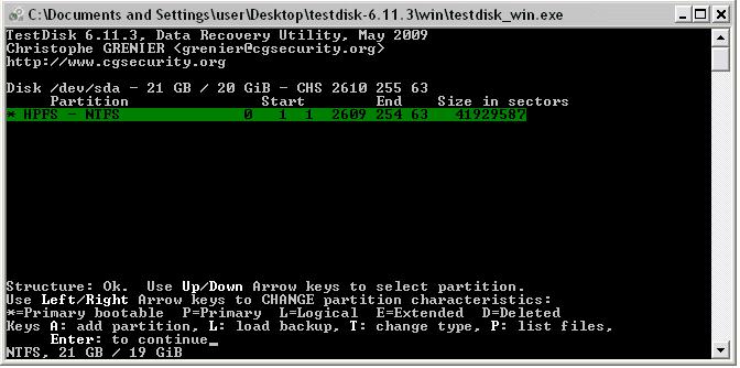 3. TestDisk and PhotoRec