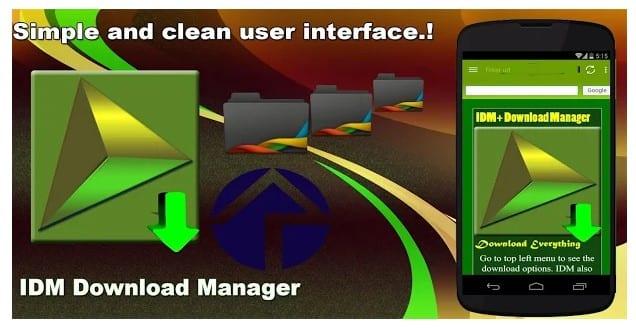 IDM Download Manager - meilleure application de téléchargement
