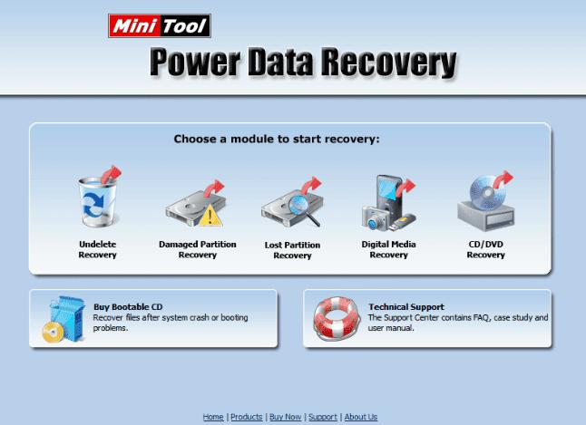 5. MiniTool Power Data Recovery