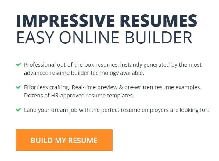 6. Resume Build