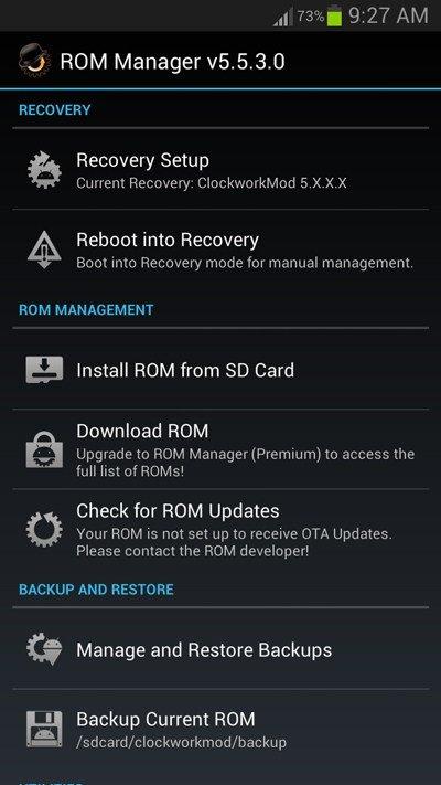 installer en toute sécurité une ROM personnalisée