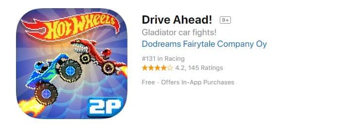 7. Drive Ahead!