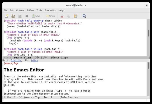 8. Emacs