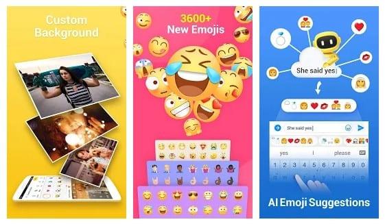 8. Facemoji Emoji Keyboard