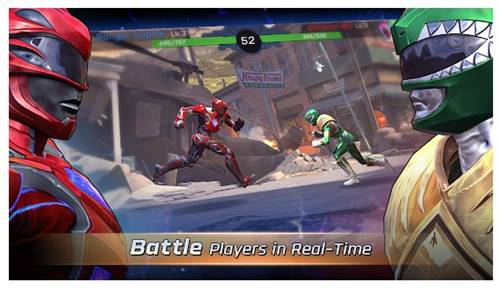 8. Power Rangers Legacy Wars