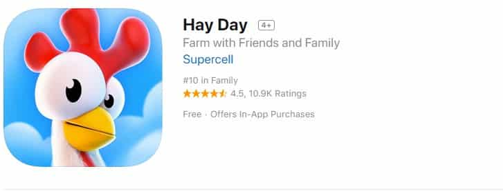 9. Hay Day