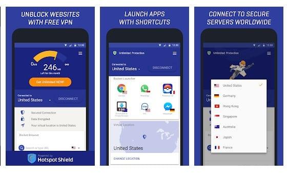 Rocket VPN – Internet Freedom