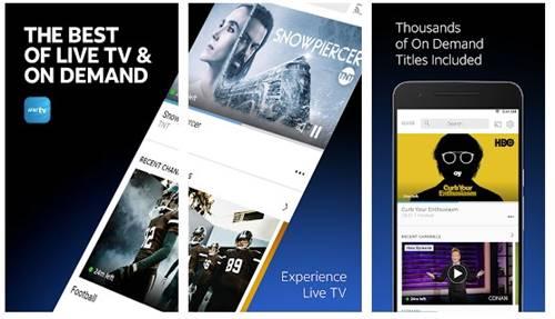 AT&T TV - meilleure application TV en direct