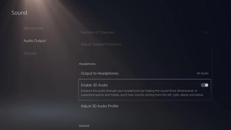 Activer l'audio 3D sur les écouteurs