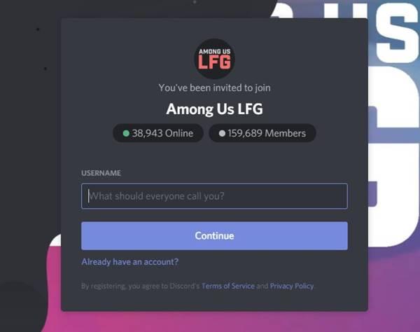 Among Us LFG