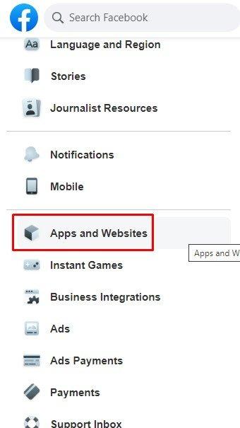 Applications et sites Web