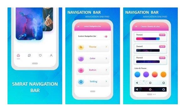 Barre de navigation intelligente Pro