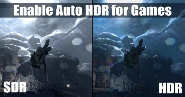 Comment activer le HDR automatique pour les jeux sur un PC Windows 10