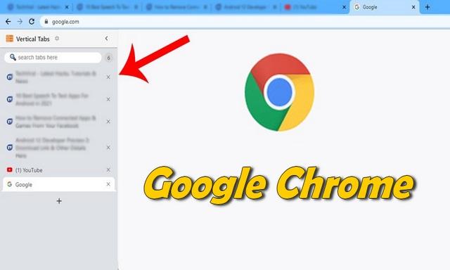 Comment activer les onglets latéraux (verticaux) dans le navigateur Google Chrome