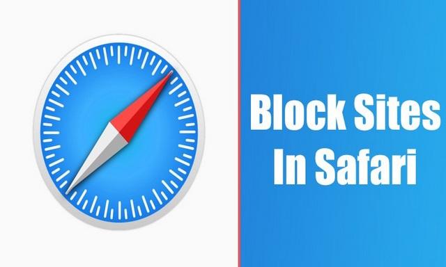 Comment bloquer des sites Web dans le navigateur Web Safari