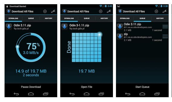 Download All Files - meilleure application de téléchargement
