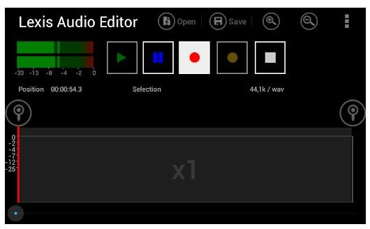 Éditeur audio Lexis