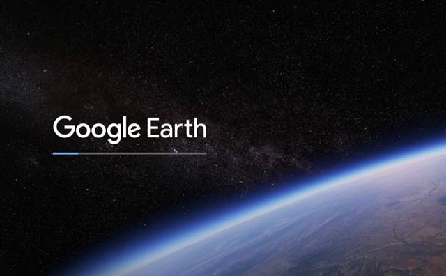 Google Earth se charge