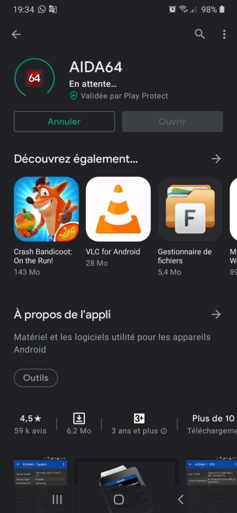 Google Play Store et téléchargez
