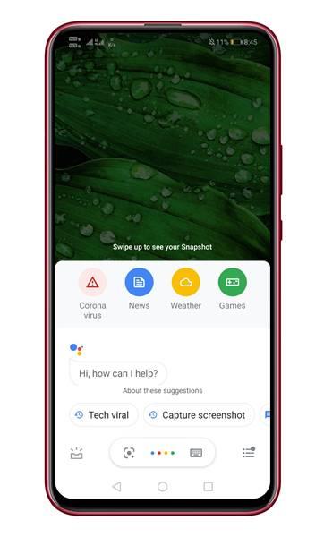 Google sur votre téléphone.