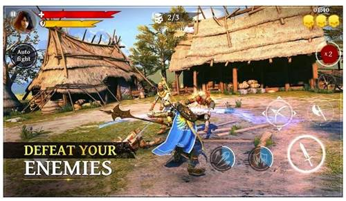 7. Iron Blade: Medieval Legends RPG
