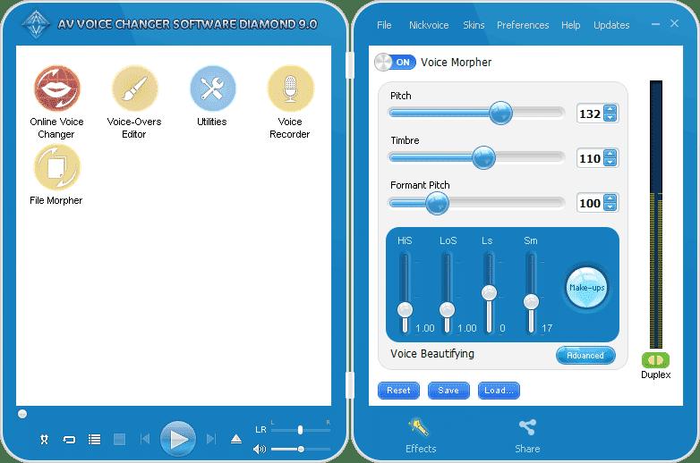 Logiciel AV Voice Changer