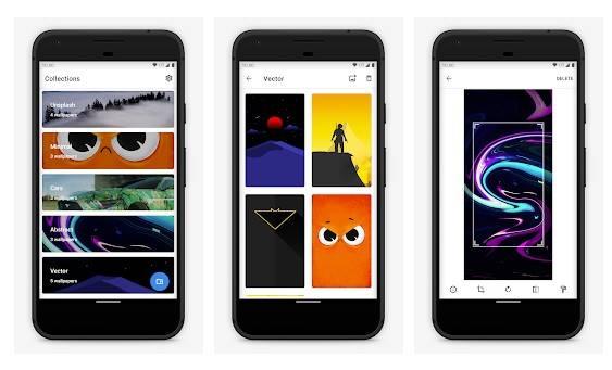 Next - applications de fond écran