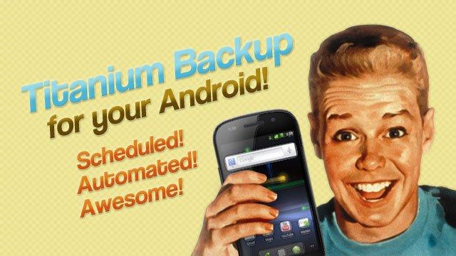 Sauvegarde Android