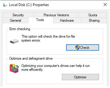Scannez le lecteur de disque