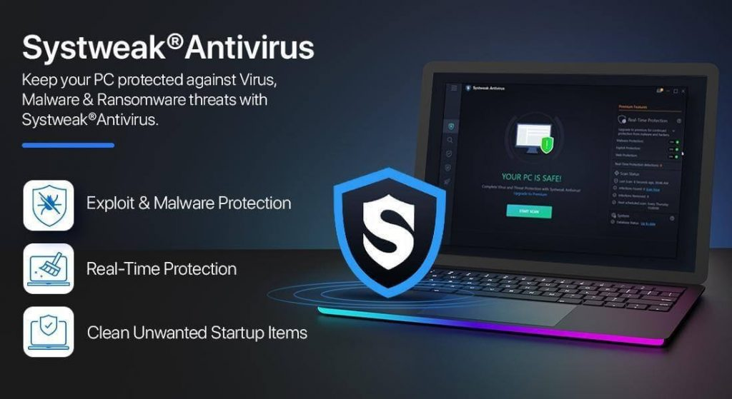 Systweak Antivirus01