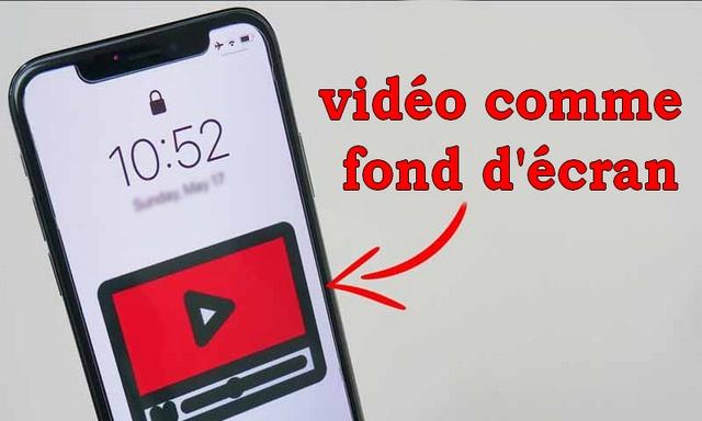 Comment définir la vidéo comme fond d'écran sur iPhone