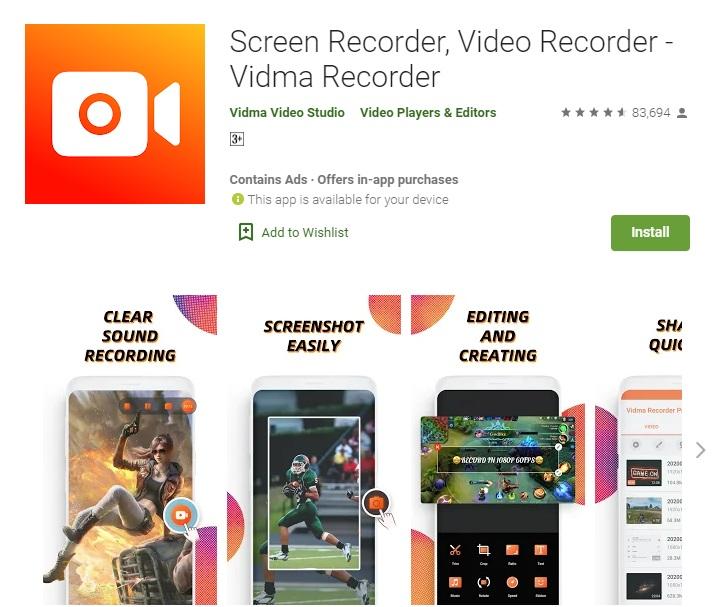 Vidma Video Recorder