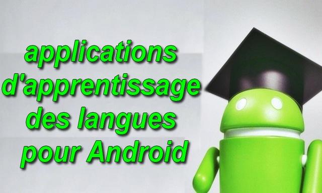 applications d'apprentissage des langues pour Android