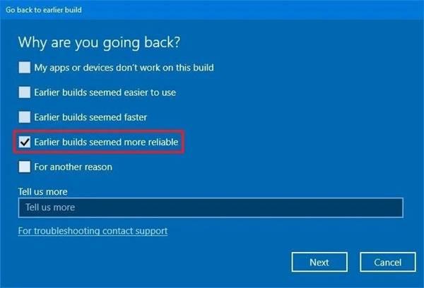 restaurer les mises à jour de Windows