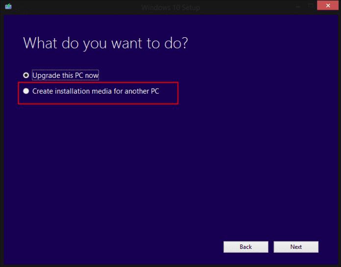 installation pourun autre PC