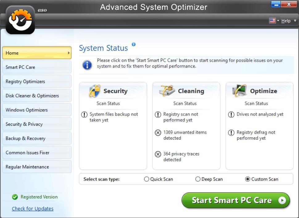 installez Advanced System Optimizer