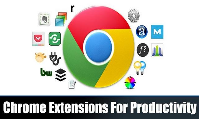 meilleures extensions Chrome pour la productivité