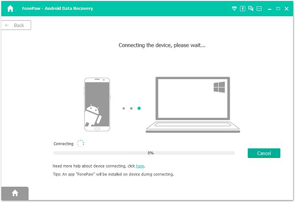 récupération de données FonePaw Android